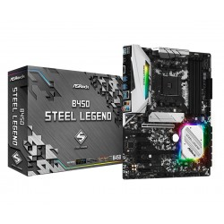 Asrock B450 Steel Legend...
